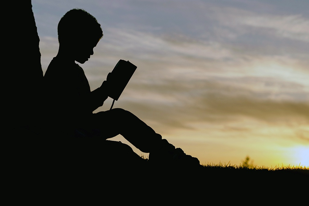 Image of a Child Reading